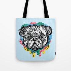 Pug Face Tote Bag
