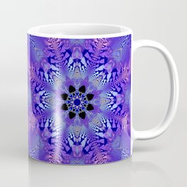 Pink, purple and sand kaleidoscope Coffee Mug