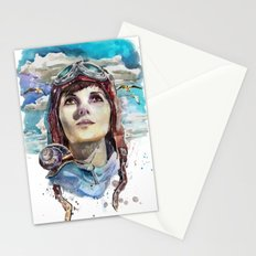 Longing for the sky Stationery Cards