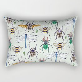 lucky insects Rectangular Pillow