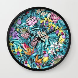 Stand out! (fresh aqua) Wall Clock