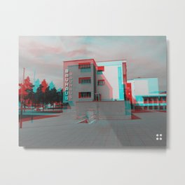 Bauhaus · Das Bauhaus 2 Metal Print