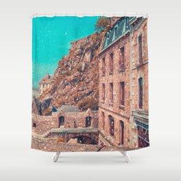 Pilgrimage to Mont St Michel Shower Curtain