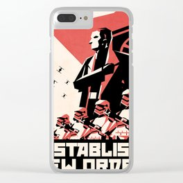 First Order (Hux) Clear iPhone Case