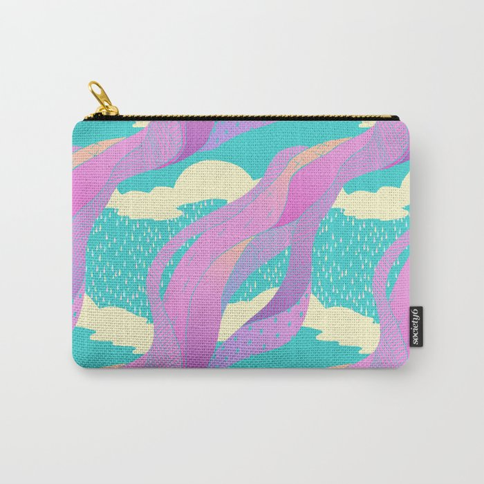 """look up"" pattern Carry-All Pouch"