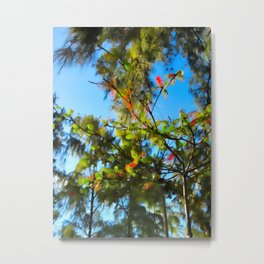 Abstract Trees 36 Metal Print