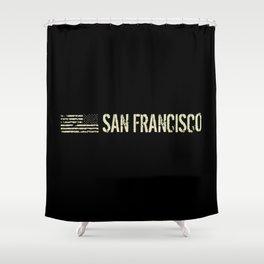 Black Flag: San Francisco Shower Curtain