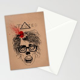 Mild Mannered Zombie Stationery Cards