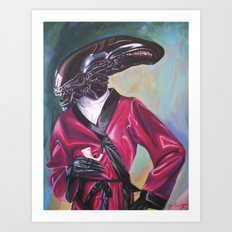 Dappermorph Art Print