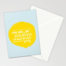 You Are My Sunshine - Child's Art Print Stationery Cards