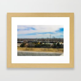 Train by Monique Ortman Framed Art Print
