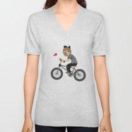 Mr.Bongo Cycling Unisex V-Neck