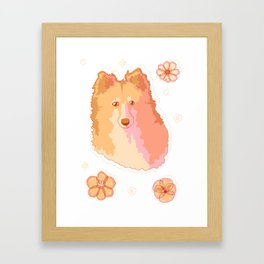 Soft Garden - Morning Framed Art Print