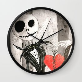 Missing My Sally Wall Clock