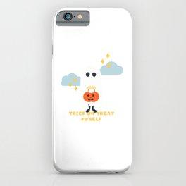 Kawaii Ghost iPhone Case