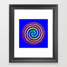 Gerbera Absract Framed Art Print