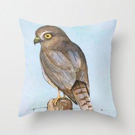 sparrow-hawk Throw Pillow