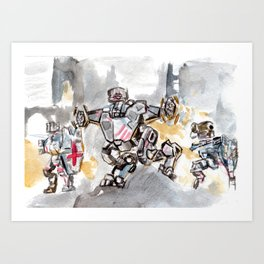 Knights of Camelot Art Print
