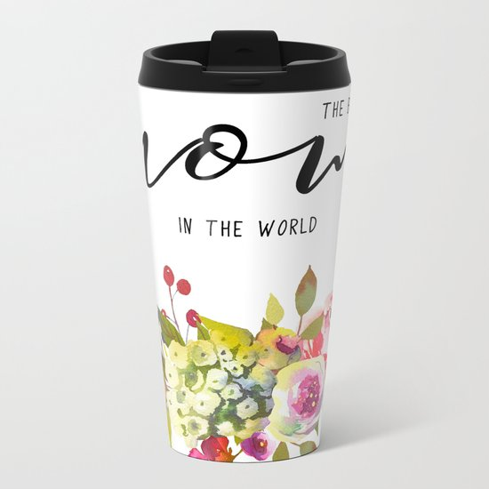 The best mom | Mother's day Metal Travel Mug
