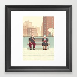 Day Trippers #5 - Rest Framed Art Print
