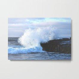 Crashing Tides Metal Print