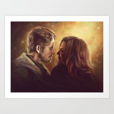 You Are My Future Art Print
