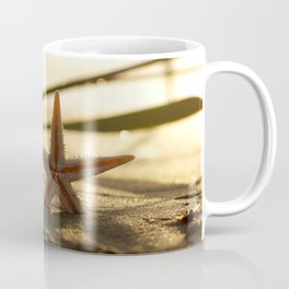 #Starfish #Still #life on the #summer #beach in #sunset Coffee Mug