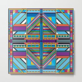 J.Series.28.symmetrical Metal Print