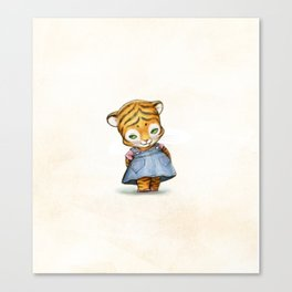 Lonely Ty Canvas Print