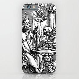 Danse Macabre. XXVII. The Astrologer iPhone Case