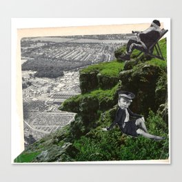 Urban Collage Two Canvas Print