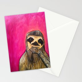 Millie (The Sloth) Stationery Cards