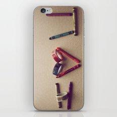 Children Love | I Love You iPhone & iPod Skin