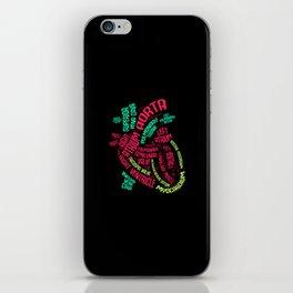 Anatomy of Heart. - Gift iPhone Skin