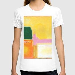 Mark Rothko - No 16 / No 12 (Mauve Intersection) Artwork T-shirt