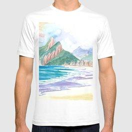 Beach Dreams Praia de Ipanema Rio de Janeiro Brazil T-shirt