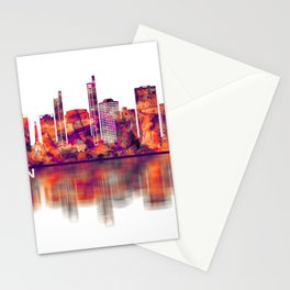 Asuncion Paraguay Skyline Stationery Cards