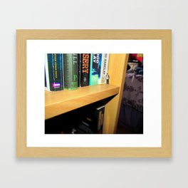A Book A Day Keeps the Dr Away  Framed Art Print