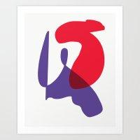 Matisse Shapes 10 Art Print