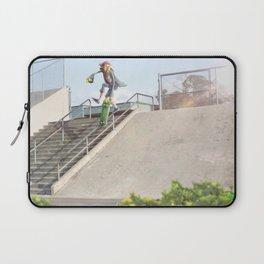 Skateboarding Fast Plant Laptop Sleeve