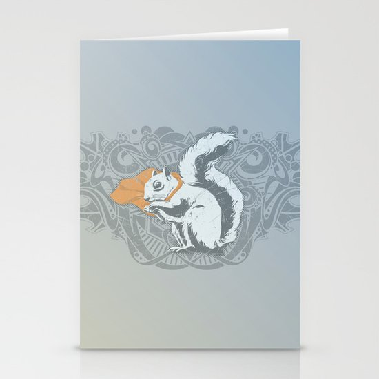 Fearless Creature: Chippy Stationery Cards