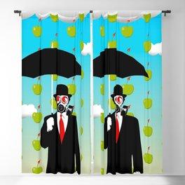 Umbrella Man Blackout Curtain