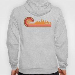 Retro Style Cleveland Ohio Skyline Hoody