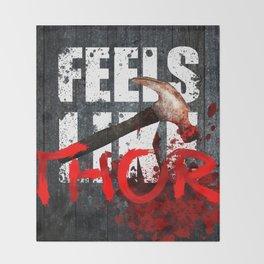 The War Z - Feels like THOR! (Hammer) Throw Blanket
