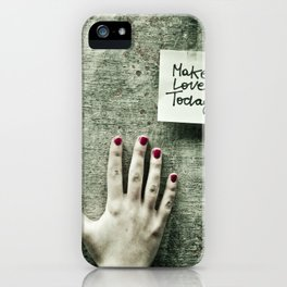 Spread the Word iPhone Case