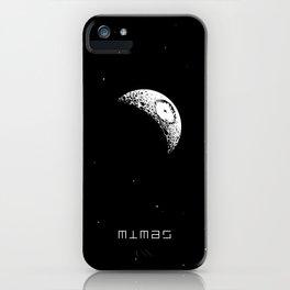MIMAS iPhone Case