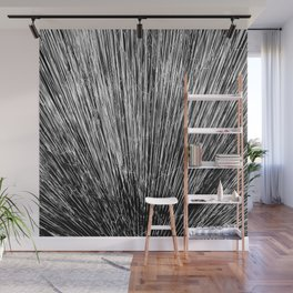 Electroshock Black+White Wall Mural