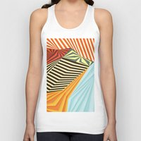 mountains Tank Tops featuring Yaipei by AnaiGreog