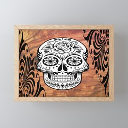 Mr Bones Framed Mini Art Print