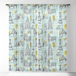 Globetrotter Sheer Curtain
